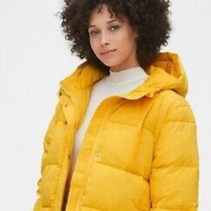 GAP Orange Puffer Down Jacket